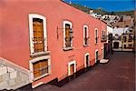 Building along a street, Zacatecas State, Mexico Stock Photo - Premium Royalty-Freenull, Code: 625-02933425