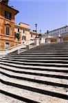Spanish Steps, Piazza di Spagna, Rome, Latium, Italy Stock Photo - Premium Royalty-Free, Artist: Alberto Biscaro          , Code: 600-02935384