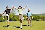 People at Golf Course                                                                                                                                                                                    Stock Photo - Premium Royalty-Free, Artist: Hiep Vu, Code: 600-02935482