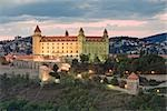 Bratislava Castle, Slovakia                                                                                                                                                                              Stock Photo - Premium Rights-Managed, Artist: Rudy Sulgan              , Code: 700-02935513
