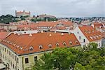 Old Town Bratislava With Bratislava Castle in the Background, Slovakia                                                                                                                                   Stock Photo - Premium Rights-Managed, Artist: Rudy Sulgan              , Code: 700-02935515