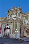 Hofburg Palace and the Entrance of the National Library, Vienna, Austria