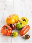 Heirloom Tomatoes Stock Photo - Premium Rights-Managed, Artist: Edward Pond              , Code: 700-02935592