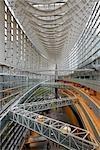 Atrium, Tokyo International Forum, Tokyo, Japan