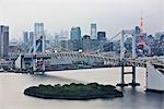 Rainbow Bridge, Tokyo, Kanto Region, Honshu, Japan