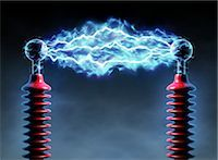 Electrical Charge                                                                                                                                                                                        Stock Photo - Premium Rights-Managednull, Code: 700-02935704