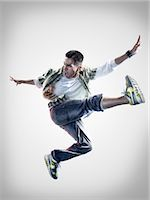 Portrait of Breakdancer Stock Photo - Premium Rights-Managednull, Code: 700-02935843