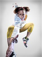 Portrait of Breakdancer Stock Photo - Premium Rights-Managednull, Code: 700-02935845