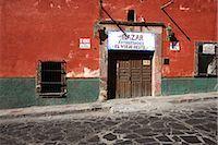 Store Front, San Miguel de Allende, Guanajuato, Mexico                                                                                                                                                   Stock Photo - Premium Rights-Managednull, Code: 700-02935861