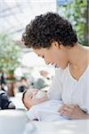 Mother holding baby Stock Photo - Premium Royalty-Free, Artist: I. Jonsson, Code: 635-02942294