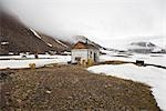 Abandoned RCMP Post and Post Office, Craig Harbour, Ellesmere Island, Nunavut, Canada                                                                                                                    Stock Photo - Premium Rights-Managed, Artist: J. David Andrews         , Code: 700-02943229