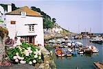 Polperro, Cornwall, England, United Kingdom, Europe                                                                                                                                                      Stock Photo - Premium Rights-Managed, Artist: robertharding, Code: 841-02943828