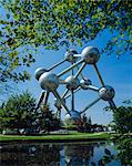 The Atomium, Brussels, Belgium                                                                                                                                                                           Stock Photo - Premium Rights-Managed, Artist: Robert Harding Images, Code: 841-02944361