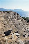 The 6th century Greek style Theatre of Psellus, Kas (Antiphellus), Anatolia, Turkey, Asia Minor, Eurasia                                                                                                 Stock Photo - Premium Rights-Managed, Artist: Robert Harding Images, Code: 841-02944687