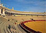 The Bullring in the city of Seville, Andalucia, Spain, Europe                                                                                                                                            Stock Photo - Premium Rights-Managed, Artist: Robert Harding Images, Code: 841-02945345