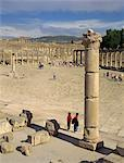 Forum, Jerash, Jordan, Middle East                                                                                                                                                                       Stock Photo - Premium Rights-Managed, Artist: Robert Harding Images, Code: 841-02945874