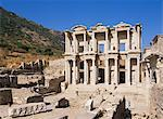 Library of Celsus, Ephesus, Anatolia, Turkey, Asia Minor, Eurasia