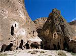 Church of Snakes, Soganli Valley, Goreme National Park, UNESCO World Heritage Site, Cappadocia, Anatolia, Turkey, Asia Minor, Eurasia                                                                    Stock Photo - Premium Rights-Managed, Artist: Robert Harding Images, Code: 841-02946449