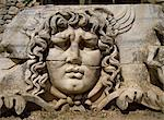 Head of Medusa, Didyma, Anatolia, Turkey, Asia Minor, Eurasia                                                                                                                                            Stock Photo - Premium Rights-Managed, Artist: Robert Harding Images, Code: 841-02946470