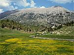 Springtime in the hills near Guzelyurt, south of Nevsehir, Anatolia, Turkey, Asia Minor, Eurasia                                                                                                         Stock Photo - Premium Rights-Managed, Artist: Robert Harding Images, Code: 841-02946555