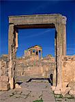 The Tell, Dougga (Thugga), UNESCO World Heritage Site, Tunisia, North Africa, Africa                                                                                                                     Stock Photo - Premium Rights-Managed, Artist: Robert Harding Images, Code: 841-02946590