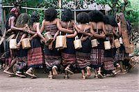 Abui tribal warrior dance, Alor Island, eastern Indonesia, Southeast Asia, Asia                                                                                                                          Stock Photo - Premium Rights-Managednull, Code: 841-02946961