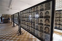 The Genocide Museum in a former school that was used by Pol Pot for torture, imprisonment and execution, Phnom Penh, Cambodia, Indochina, Southeast Asia, Asia                                           Stock Photo - Premium Rights-Managednull, Code: 841-02947373