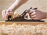 bench plane woodworking tool Stock Photo - Premium Royalty-Free, Artist: Joel Benard, Code: 640-02948036