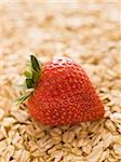 strawberries and oats Stock Photo - Premium Royalty-Free, Artist: Photocuisine, Code: 640-02949462