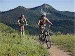 mountain bikers Stock Photo - Premium Royalty-Free, Artist: Cusp and Flirt, Code: 640-02952088
