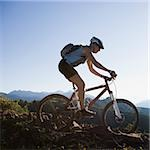 mountain biker Stock Photo - Premium Royalty-Free, Artist: Cusp and Flirt, Code: 640-02952092