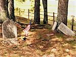 Old Cemetery in Bar Harbour, Maine, USA Stock Photo - Premium Rights-Managed, Artist: Natasha Nicholson        , Code: 700-02954825