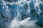 Ice calving off of Margerie Glacier into Tarr Inlet Glacier Bay National Park Southeast Alaska Summer                                                                                                    Stock Photo - Premium Rights-Managed, Artist: AlaskaStock              , Code: 854-02956086
