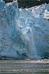 Ice Calving off Lamplugh Glacier Glacier Bay NP AK SE Summer                                                                                                                                             Stock Photo - Premium Rights-Managed, Artist: AlaskaStock              , Code: 854-02956098