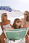 Women Laughing on Beach Stock Photo - Premium Royalty-Free, Artist: Hiep Vu                  , Code: 600-02957689