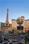 Paris Las Vegas Hotel and Casino, Las Vegas Strip, Las Vegas, Nevada, USA Stock Photo - Premium Rights-Managed, Artist: Rudy Sulgan              , Code: 700-02957722