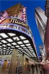 Radio City Music Hall, GE Building, Rockefeller Center, Manhattan, New York, New York, USA