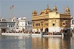 Golden Temple, Amritsar, Punjab, India Stock Photo - Premium Royalty-Free, Artist: Sarah Murray             , Code: 600-02957889
