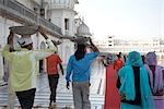 People at Golden Temple, Amritsar, Punjab, India