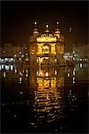 Golden Temple at Night, Amritsar, Punjab, India                                                                                                                                                          Stock Photo - Premium Rights-Managed, Artist: Sarah Murray, Code: 700-02957804