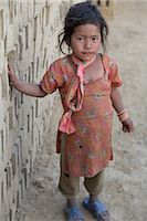 Little Girl in Chapagaon, Nepal                                                                                                                                                                          Stock Photo - Premium Rights-Managednull, Code: 700-02957844
