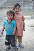 Little Kids in Chapagaon, Nepal                                                                                                                                                                          Stock Photo - Premium Rights-Managednull, Code: 700-02957849