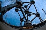 Atomium,low angle view,Brussels,Belgium                                                                                                                                                                  Stock Photo - Premium Rights-Managed, Artist: Axiom Photographic       , Code: 851-02958813