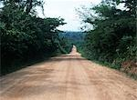 Long dirt track,Kakum Park Rainforest,Central Region,Ghana                                                                                                                                               Stock Photo - Premium Rights-Managed, Artist: Axiom Photographic       , Code: 851-02960007