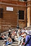 The Spanish Steps,Rome,Italy                                                                                                                                                                             Stock Photo - Premium Rights-Managed, Artist: Axiom Photographic       , Code: 851-02960800