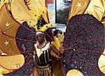 Girl in carnival costume,Kingston,Jamaica                                                                                                                                                                Stock Photo - Premium Rights-Managed, Artist: Axiom Photographic       , Code: 851-02960926
