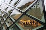Prada boutique on Omotesando Avenue,Tokyo,Japan                                                                                                                                                          Stock Photo - Premium Rights-Managed, Artist: Axiom Photographic       , Code: 851-02961228