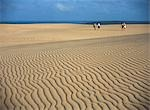 Tourists walking across desert,Mozambique                                                                                                                                                                Stock Photo - Premium Rights-Managed, Artist: Axiom Photographic       , Code: 851-02961952