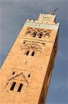 Minaret of Koutoubia Mosque,Marrakesh,Morocco                                                                                                                                                            Stock Photo - Premium Rights-Managed, Artist: Axiom Photographic       , Code: 851-02962192