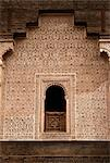 Ben Youssef Medersa,detail,Marrakech (Marrakesh),Morocco                                                                                                                                                 Stock Photo - Premium Rights-Managed, Artist: Axiom Photographic       , Code: 851-02962215